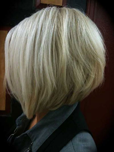 Modern Hair, Bob, Bobs, Blonde, Stacked