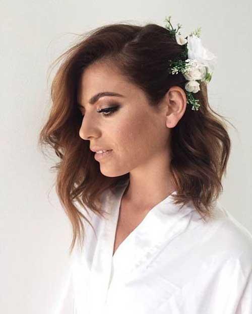 Wedding Short Hairstyles-15