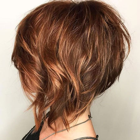 Layered Hair, Bob, Layered, Fine, Highlights