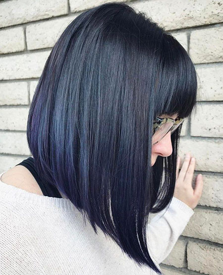 Modern Hair, Bob, Long, Bangs, 20