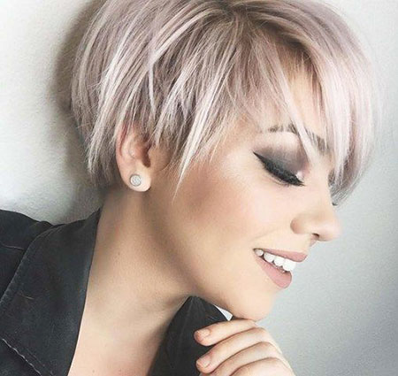 Layered Hair, Bob, Pixie, Layered, 207