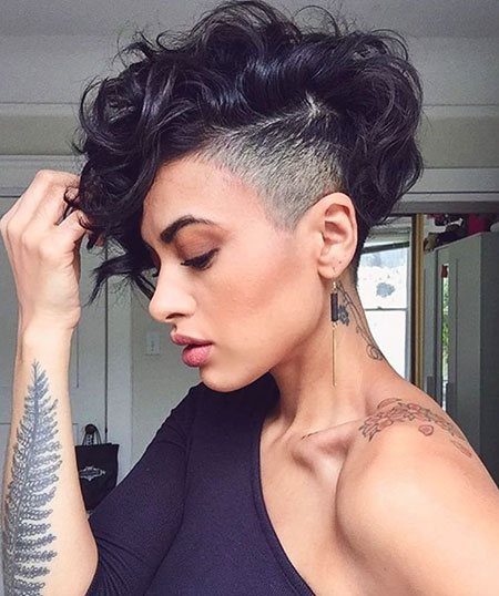 Black Hair, Straight, Should, Pixie, Cuts
