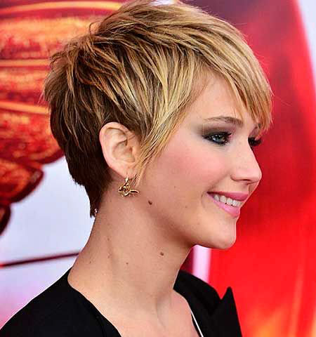 Jennifer Lawrence, Pixie, 207, Women, Trendy