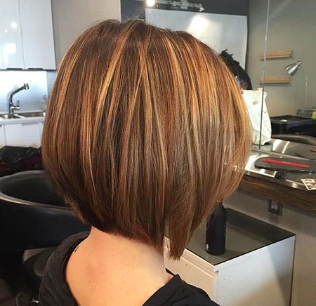 Thick Hair, Bob, Highlights, Thick, Straight