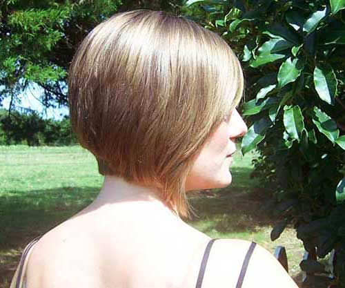 Back View of Bob Hairstyles-16