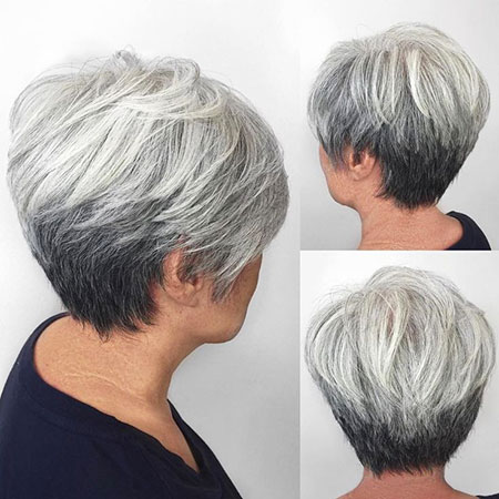 Modern Hair, Pixie, Women, Over, Modern