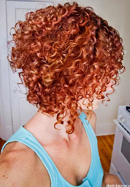 Inverted Hair, Curly, Women, Summer, Some