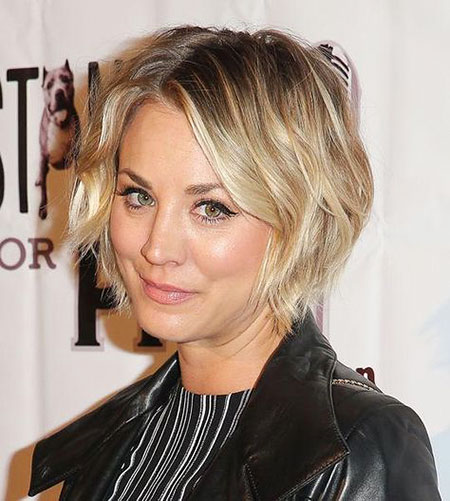 Kaley Cuoco Hair, Kaley, Cuoco, Bob, Pixie