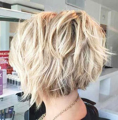 Blonde Hair, Bob, Blonde, Layered, Frisyrer