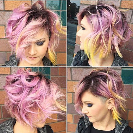 Fun Hair, Cute, Women, Trend, Textured