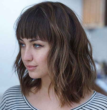 Modern Hair, Bob, Bangs, Wavy, Long