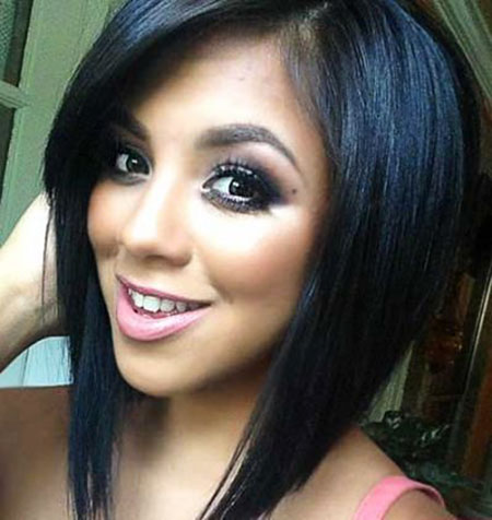 Bob Cut with Bangs, Bob, Line, Kylie, Jenner