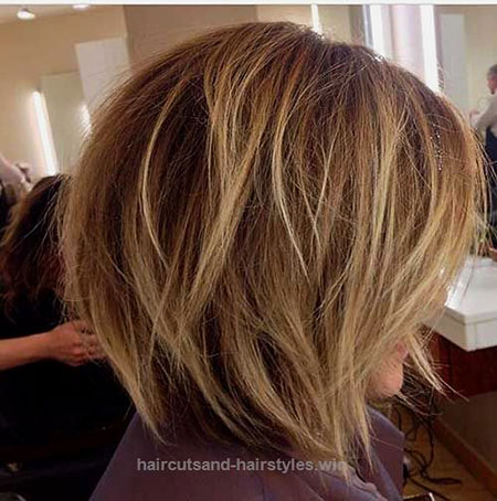 Blonde Balayage Highlights, Bob, Balayage, Highlights