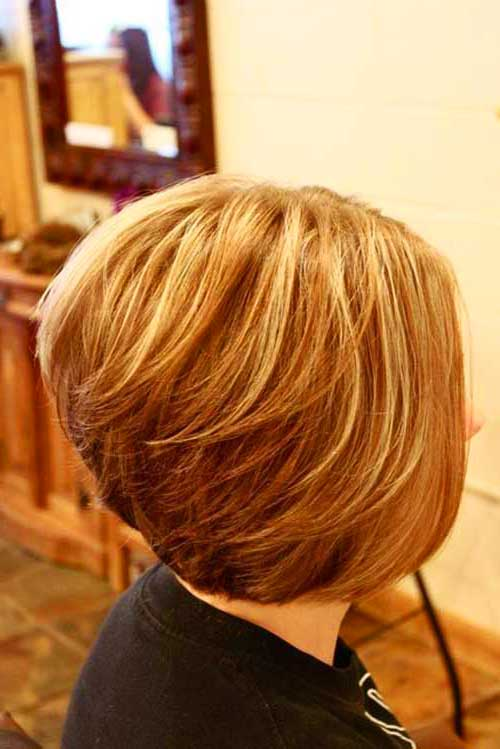 Back View of Bob Hairstyles-19