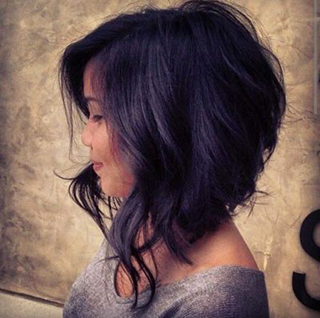 Winter Hair, Purple, Bob, Winter, Trends