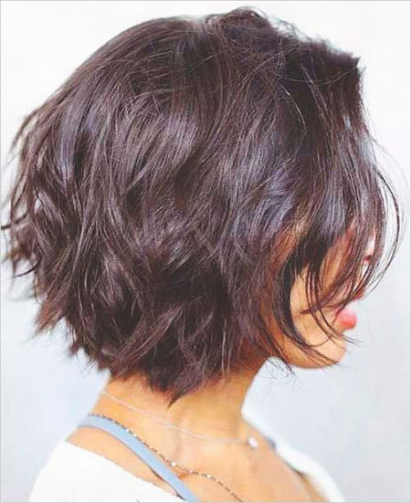 Choppy Hair, Bob, Women, Layered, Frisyrer