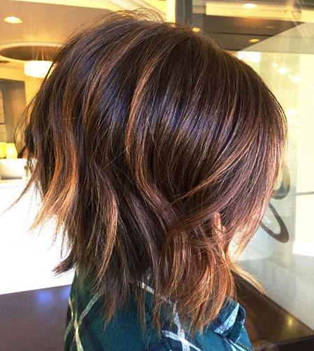 Textured Hair, Bob, Angled, Textured, Layered