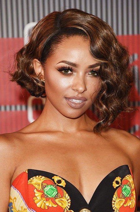 Kat Graham Hair, Women, Wavy, Graham, Bob