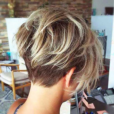 Undercut Hair, Bob, Balayage, View, Under