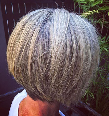 Layered Bob, Bob, Layered, Highlights, Women