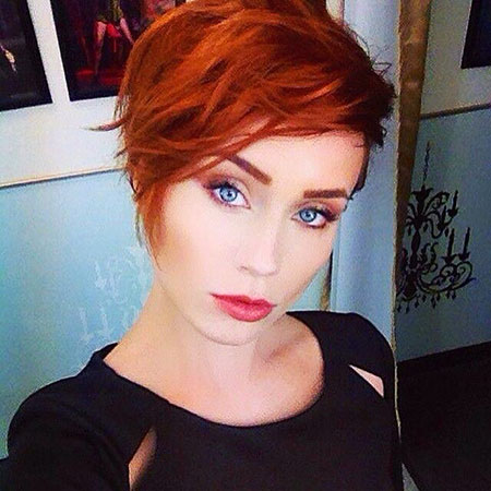 Red Hair, Red, Pixie, Sassy, Pixies