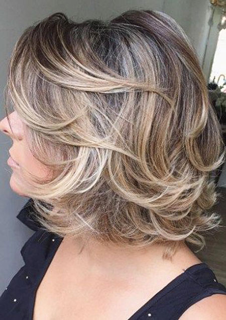 Blonde Hair, Balayage, Older, Blonde, Women