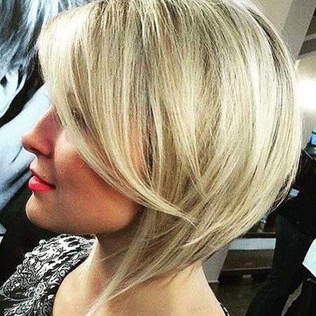 Blonde Hair, Blonde, Bob, Bobs, Angled