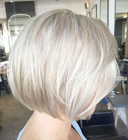Thin Hair, Bob, Blonde, Layered, Bobs
