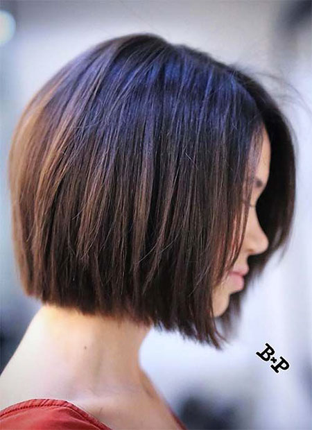 Classic Bob Hair, Bob, Women, Layered, Under