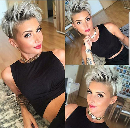 Short Hairstyle 208, Pixie, Kapsels, Pixies, Korte