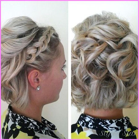 Braided Hair, Wedding, Updos, Updo, Fancy