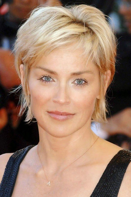 Sharon Stone, Women, Stone, Sharon, Pixie