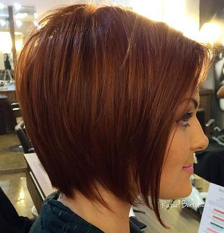 Fine Hair, Bob, Layered, 207, Medium
