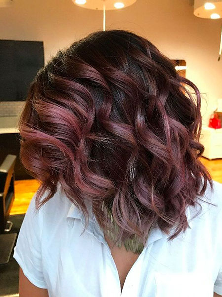 Fall Hair, Mauve, Chocolate, Trends, Fall