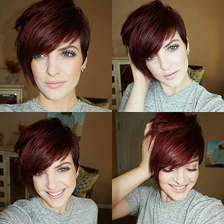 Asymmetrical Hair, Pixie, Some, Pixies, Korte