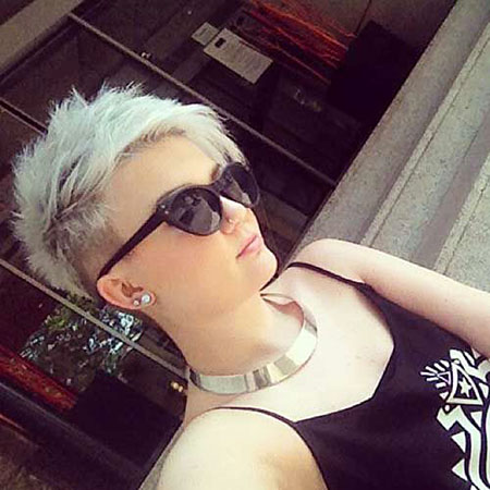 Funky Hair, Pixie, Sunglasses, Shaved, Pixies