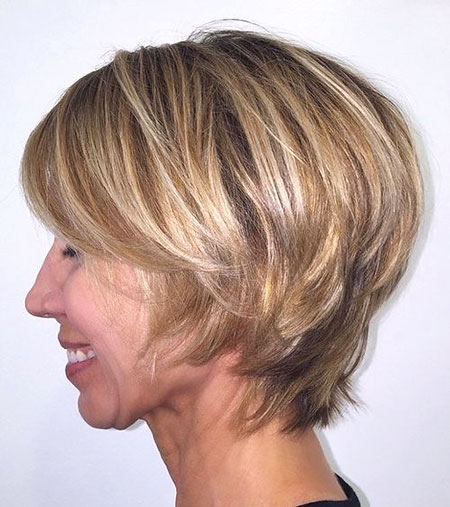 Blonde Hair, Blonde, Bob, Layered, Balayage