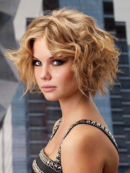 Trendy Hair, Curly, Bob, Long, 207