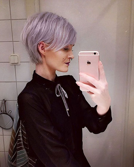 Purple Hair, Pixie, Purple, Pastel, Lilac