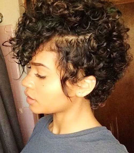 Cute Hair, Curly, Frizzy, Women, Suitable