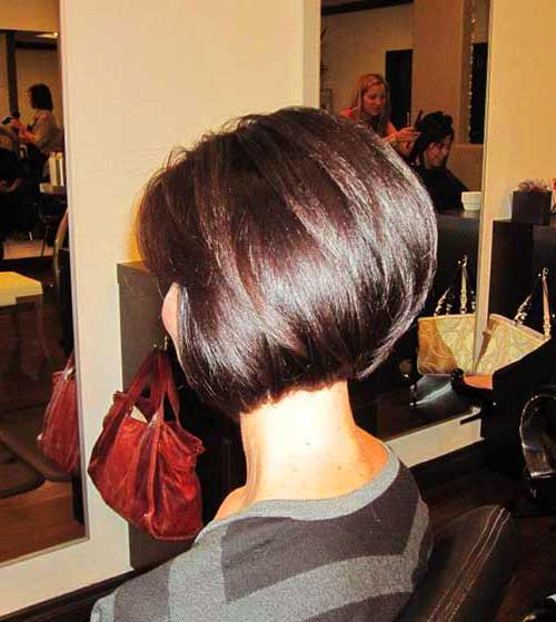 Back View of Bob Hairstyles-6