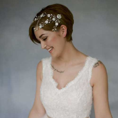 Wedding Short Hairstyles-6