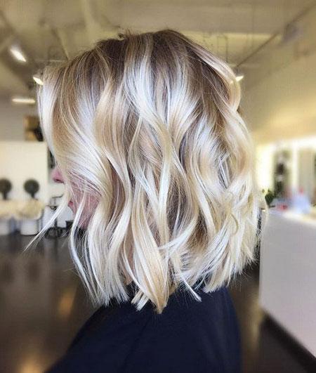 Spring Hair, Blonde, Balayage, Wavy, Spring