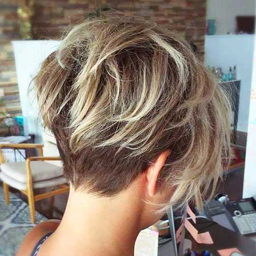 Back View of Bob Hairstyles-7