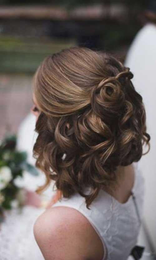 Wedding Short Hairstyles-7