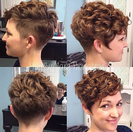 Cute Bangs, Pixie, Curly, Updo, Pixies