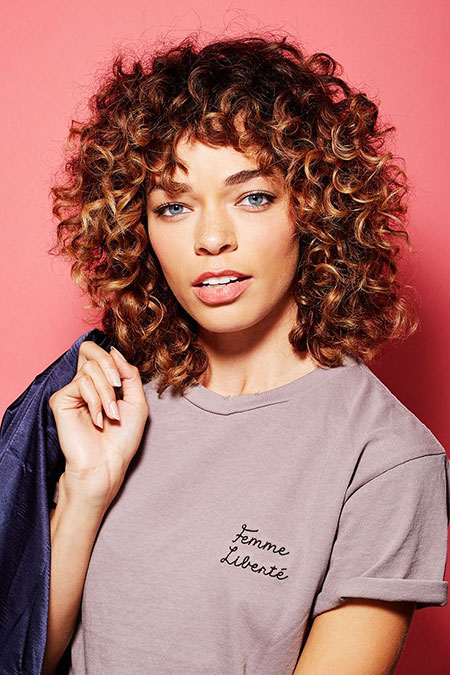 Modern Hair, Curly, Trend, Tips, Shag