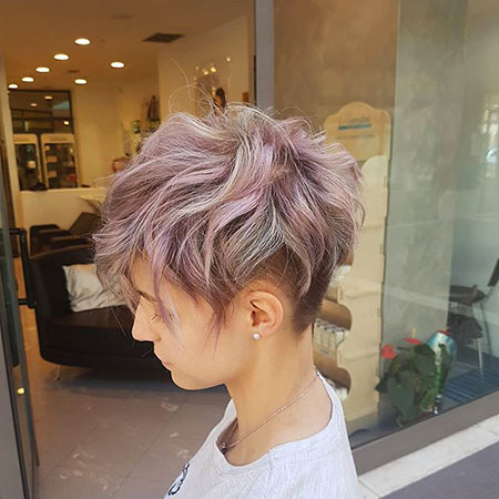 Choppy Hair, Pixie, Under, Choppy, Updos