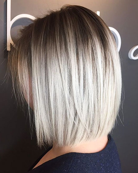 Fine Hair, Blonde, Bob, Chopped, Balayage