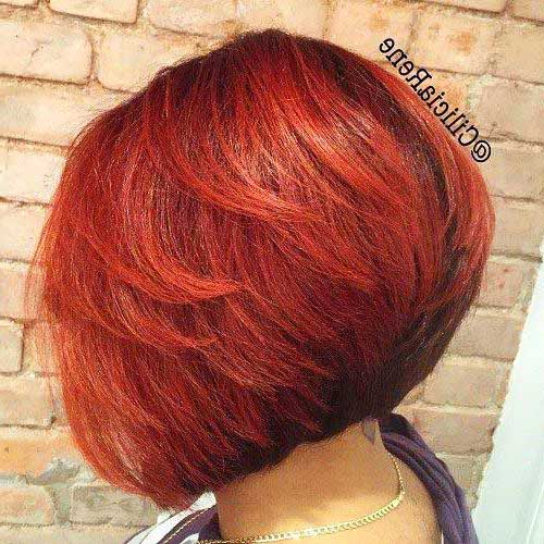 Back View of Bob Hairstyles-9
